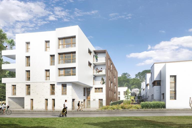 levallois construction en conception r alisation de 20 logements locatifs sociaux hauts de. Black Bedroom Furniture Sets. Home Design Ideas